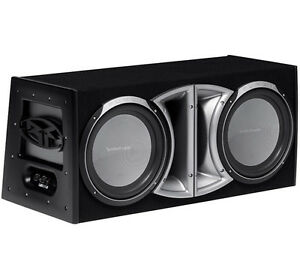 RockFord R2 Dual Subs and 850w Planet Audio Amp