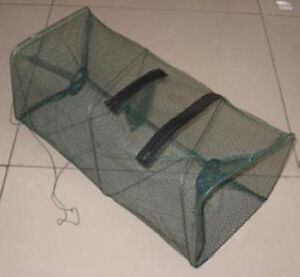 Reliable Nylon Mesh Frame Fishing Shrimping Crawfish Fish Net Trap Hot <Z