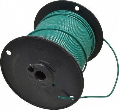 Southwire 14 AWG, 41 Strand, Green Machine Tool Wire PVC, Acid, Moisture and ...