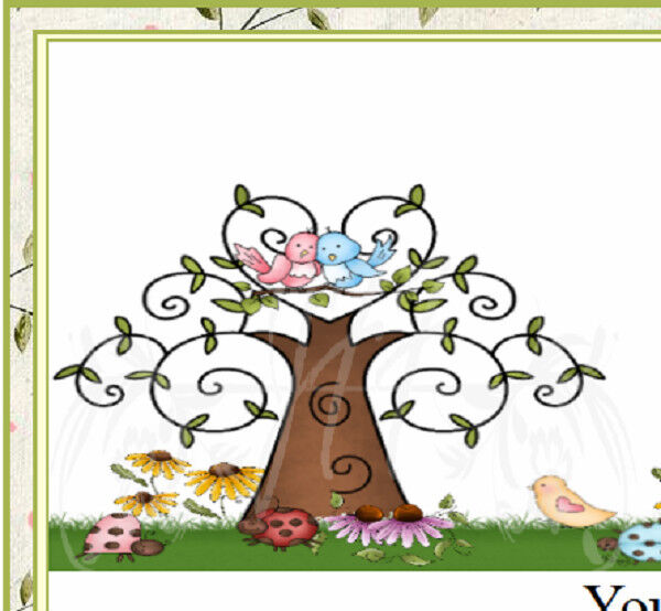 Two Love Birds Sittin In A Tree eBay Auction Template Listing Template
