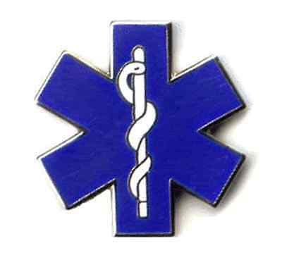 Classic Star of Life (EMT) Tie Tack - Lapel Pin