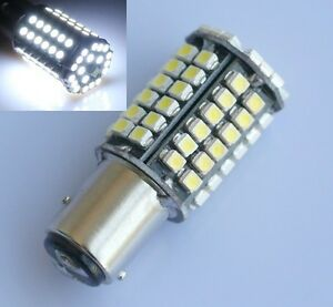 2x-Bay15d-1157-Car-White-80-SMD-3528-LED-Tail-Brake-Stop-Signal-Light-Bulb-12V