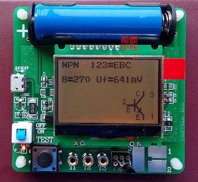 1pcs Esr Tester Meter Transistor Capacitance Inductance Pnp Mos Npn Jfet