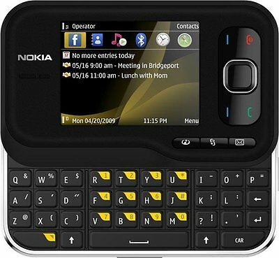 Nokia 6790 Surge - Black (Unlocked) Qwerty Smartphone