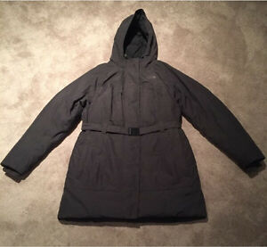 Woman's North Face Winter jacket XL grey like new Kitchener / Waterloo Kitchener Area image 3