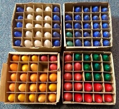 Vintage LOT C-9 1/4 CHRISTMAS BULBS LAMPS 98 pc TESTED Assorted Colors