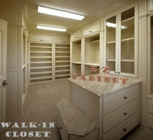 E-Z Kitchen Cabinet - Walk-in Closet Wardrobe - Installtion