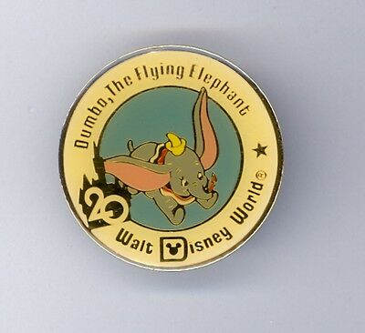 20th Walt Disney World Dumbo the Flying Elephant 20 Years Pin from 1991
