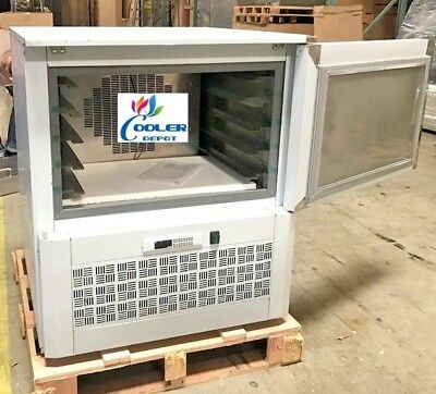New Commercial Shock Freezer Blast Chiller Model Bl5 Stainless Steel -40f