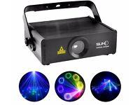 SUNY RGB 400mW Laser SD Card Program Source ILDA 24 CH DMX