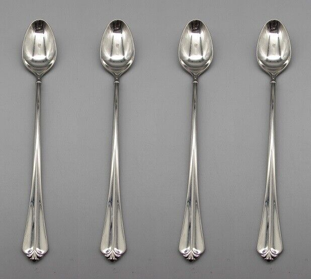 ONEIDA ENGAGEMENT STERLING SILVER ICE TEA SPOON EXCELLENT CONDITION