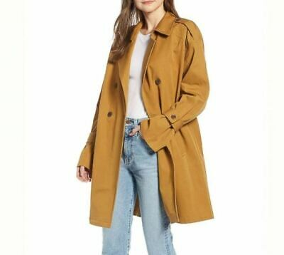 Something Navy Easy Oversized Trench Coat, -