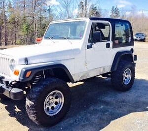 1998 Jeep TJ Coupe (2 door)