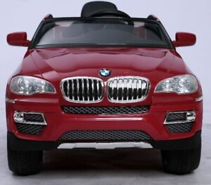 BMW  X6 kids car with 12V Battery, Leather Seat,Music,Remote