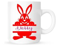 Personalised Easter Mugs with free chocolate mini eggs