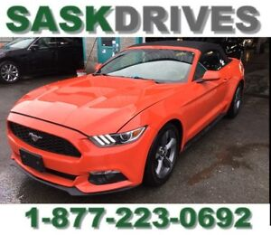 2016 Mustang CONVERTIBLE  **100% APPROVED**