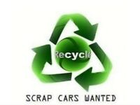 Scrap cars and vans wanted £300