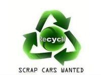 Scrap cars & vans &a cars £300