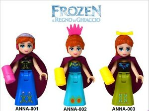 Frozen Snow Queen Elsa &Princess Anna dolls compatible with Lego Yellowknife Northwest Territories image 4