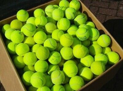 50 palline da tennis usate