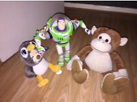 Buzz+ moving and sound making soft toys