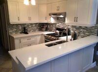 Quartz, granite countertop kitchen bathroom