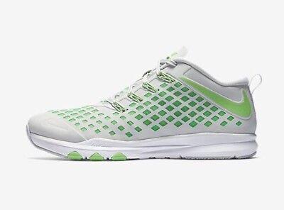 18e1280a5fa521 Nike Train Quick Trainer Men s Training Breathable Flywire 844406-030 Size  10