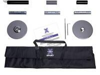 X POLE SPORT BLACK FINISH 45mm