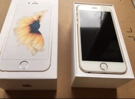 IPHONE 6S GOLD 64GB UNLOCKED GOOD CONDITION BOXED WITH CHARGER