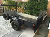 Rubbish removal man & trailer, Rubbish & Garden waste