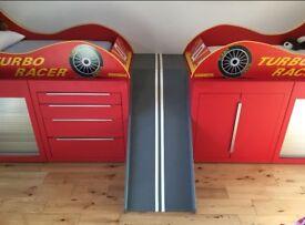 Toddler Racing Car Beds and Frame