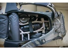 FSTOP CAMERA BAG with large ICU- Used ONLY ONCE