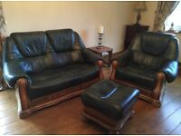 Leather sofa's