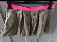 C river island skirt with pockets size 14
