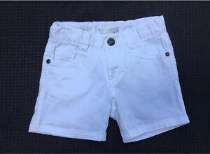 Moving Sale - Fred Bare Girls Denim Shorts - White - Size 4 Gaythorne Brisbane North West Preview