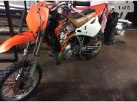 Ktm 65 motocross bike