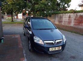 Vauxhall zafira 2008 (08) 1.9 auto