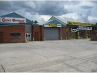 1600 sq ft TRADE COUNTER/INDUSTRIAL UNIT , GOOD LOCATION WITH OFFICE AND PARKING
