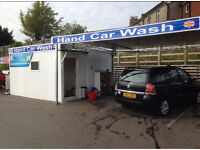 Looking for hand car wash to rent in and around London.