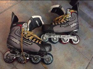 Bauer XR1 rollerblades size5