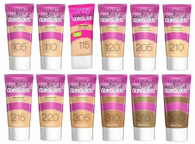 CoverGirl Ready Set Gorgeous Fresh Complexion Oil Free Found