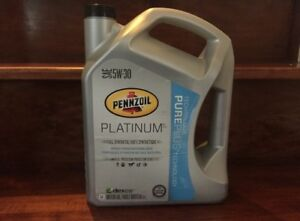 5W30 Pennzoil Platinum Full Synthetic Oil