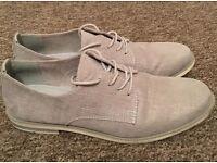 Light Grey Marco Tozzi Feel Me Shoes Size 7