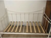Single iron bed stead