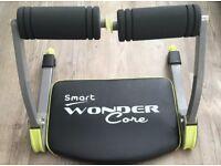 smart wonder core ab body exercise system