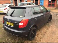 Skoda Fabia Monte Carlo VRS 1.2 tsi 2012 starts n drives bargain spares or repairs salvage damaged