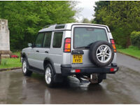 2002 Land Rover Discovery 2,5 litre 5dr FSH automatic 7 seater