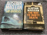 2 alistair maclean books