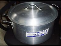 Sonex Commercial Aluminium Stock Pot Cookware - 18 Litre