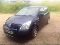 Toyota Corolla Verso, 2008, Sale or part exchange for Audi or BMW